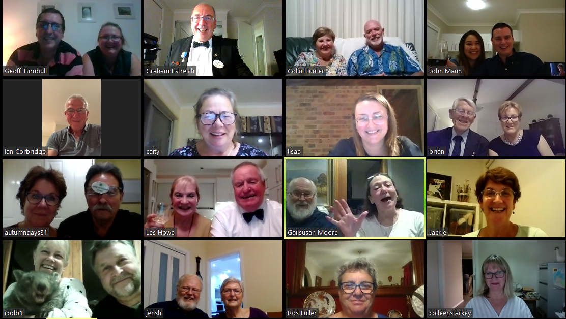 Berowra Lions Dinner Meeting via Zoom