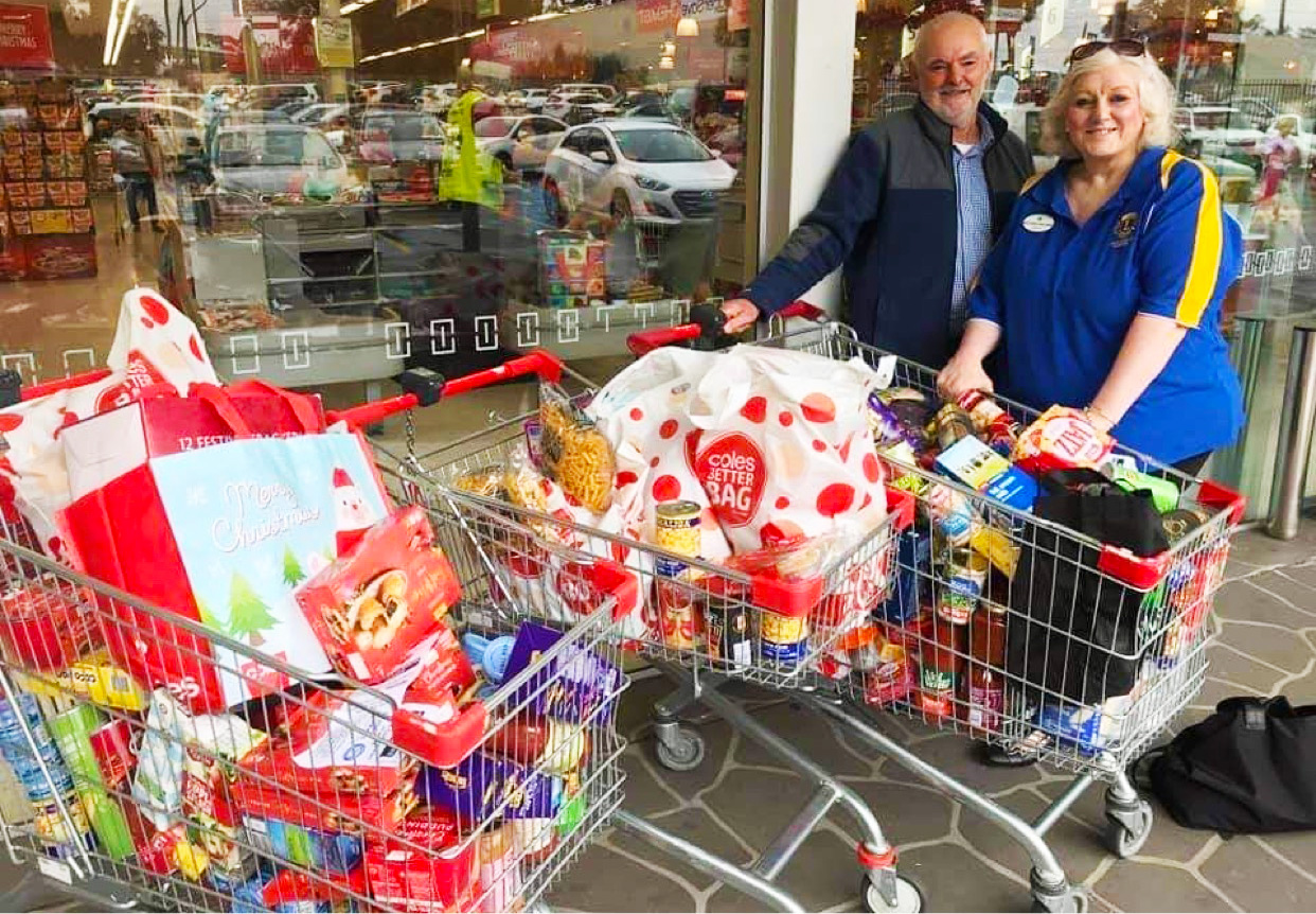 Community Food Drive Supports Area's Homeless and Needy