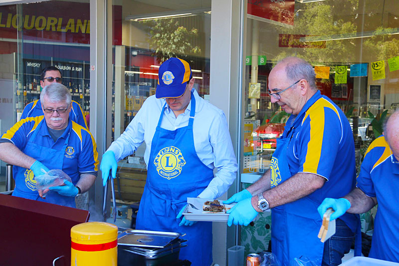 Berowra Lions Club Sausage Sizzle