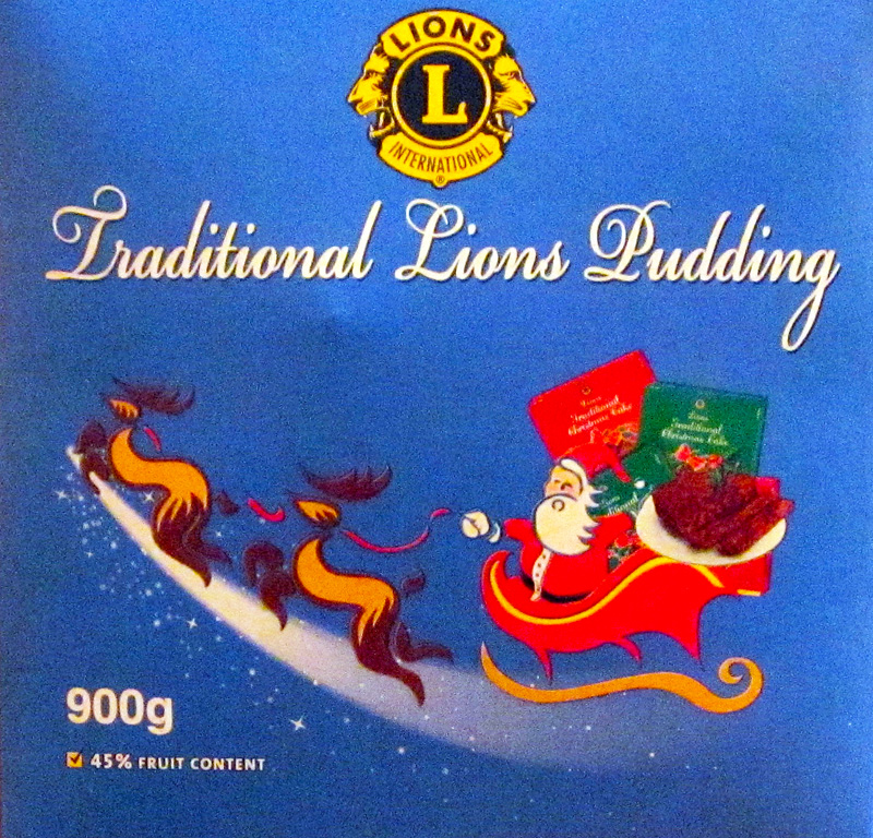 Lions Christmas Pudding 900g
